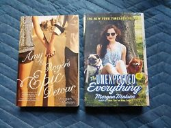 Amy And Rogerand039s Epic Detour / The Unexpected Everything By Morgan Matson Novels