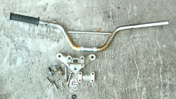 Vtg 1970and039s Indian Dirt Bike Motorcycle Se74 Original Bars And Front Mount Parts