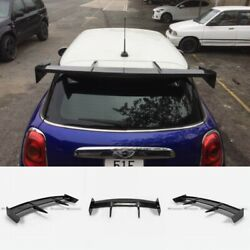 For Mini Cooper S F56 S Only Rk Style Frp Unpainted Rear Roof Spoilers Wings