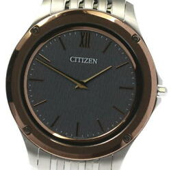 Citizen Eco Drive One Ar5004-59h / 8826-t022821 Solar Powered Menand039s Watch_579410