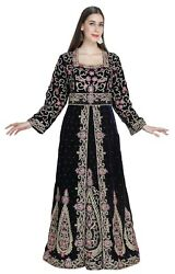 Oriental French Bridal Takchita Gown With Embroidered Hand Work For Wedding 5146