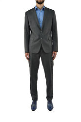 Dsquared2 Gray Man Suit Single Breasted 2pieces Formal...