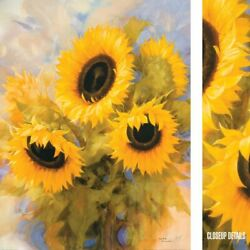 24wx32h Sunflower Dreams By Igor Levashov - Tournesol Seeds Choices Of Canvas