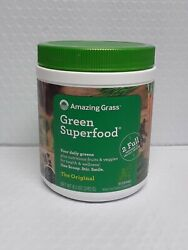 Amazing Grass Green Superfood Supplement - 30 Servings, Exp-02/2022+, 1002
