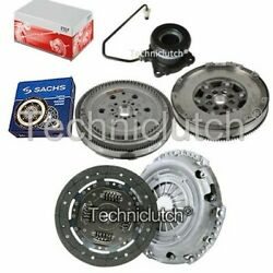 2 Part Clutch Kit And Sachs Dmf With Fte Csc For Opel Astra H Estate 1.3 Cdti