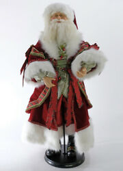 Katherineand039s Collection Wishes 36andrdquo Santa Doll 11-911525 New Christmas 2020