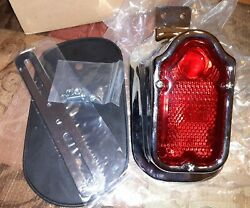Tombstone Tail Light 8-56 For Harley-davidson 47-54 Midwest Motorcycle Supply
