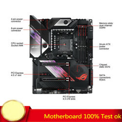 For Asus Rog Crosshair Viii Formula Motherboard Supports X570 C8f 100 Test Work