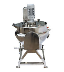 Jacketed Kettel 13.2gal Full Stainless Small Jacketed Kettel 220v Floor-standing