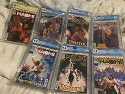 Complete Naomi 1 - 6 Wonder Comic Set Signed1 And Variant1 Cgc And Cbcs 9.8
