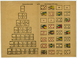 Antique Print-dominoes-cardsgame-84-catchpenny-anonymous-c.1880
