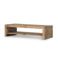 60 W Coffee Table Reclaimed Rustic Hardwoods One Of A Kind Modern