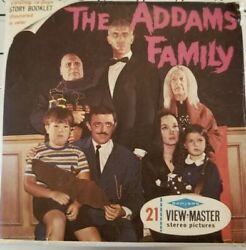 Scarce B486 The Addams Family Portrait Of Gomez Tv Show View-master Reels Packet
