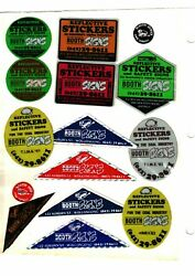 Nice Lot Of 15 Australia Booth Signs Coal Mining Stickers 490