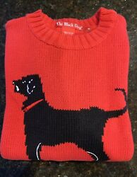 The Black Dog Kids Sweater Size Medium Red New Without Tags Rare