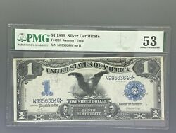 1899 1 Legal Tender Fr 228 - Graded Pmg 53 About Uncirculated