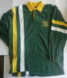 Green Bay Packers Nfl Team Apparel Menand039s Long Sleeve Sweater