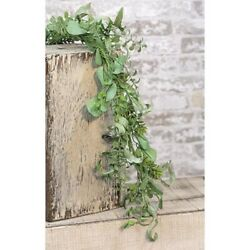 New-shabby Chic-country Farmhouse-succulent Green Garden-garland-vine 4ft Long