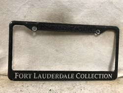 Fort Lauderdale Collection License Plate Frame Pompano Beach Florida