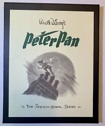 Disneyand039s Peter Pan Sketchbook Signed By 7 Original Artists From 1953 W/ 2 Coas