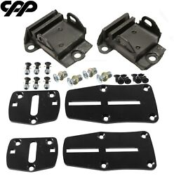 Cpp New Ls Engine Adapter Bracket Kits Pro Touring Chevy Mounts Adjustable
