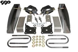 1955 1956 1957 Chevy Belair 150 210 Nomad Deluxe Rear Leaf Spring Relocation Kit