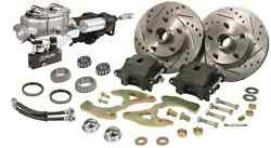 1958 -1964 Chevy Impala Power Disc Brake Conversion With Hydraulic Assist