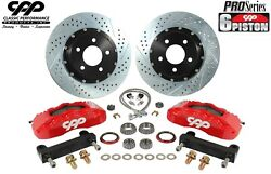 1968-74 Chevy Ii Nova 14 6 Piston Big Disc Brake Conversion Kit Pro Touring