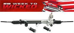 New Mustang Ii 2 Ifs Power Rack And Pinion With Offset Bushings 15.5 Mount