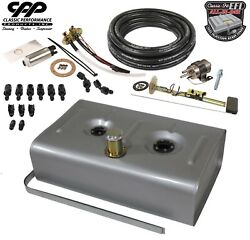 Cpp Ls Efi Fuel Injection Universal Gas Tank Fi Conversion Kit 30 Ohm Hot Rod