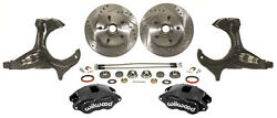 1979-87 Gm G-body Buick Grand National Stock Spindle Wilwood Disc Brake Kit