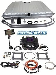 1968-1969 Chevelle Fitech Meanstreet 30008 800hp Conversion Kit Gas Fuel Tank