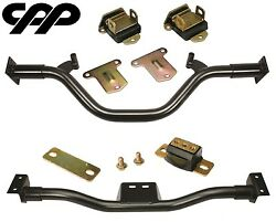 1947-54 Chevy Gmc Truck Poly Engine / Transmission Crossmember Conversion Kit