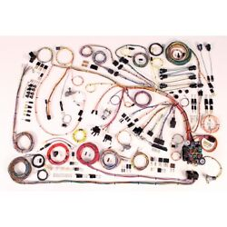 1966-68 Chevy Impala Classic Update American Autowire Wiring Harness Kit 510372