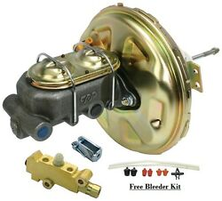 1967-1972 Chevy Chevelle El Camino Power Brake Booster Kit With Master Cylinder