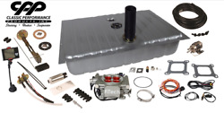 1967-68 Ford Mustang Fitech 30003 Efi Fuel Injection Gas Tank Fi Conversion Kit