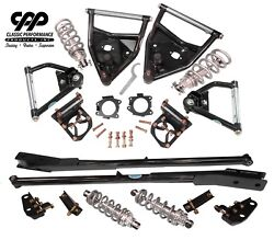 1971-72 Chevy C10 Pickup Front Rear Tubular Arms Full Coilover Conversion Kit