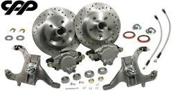 64-72 Chevy Chevelle Drop Spindles 12 Rotor Disc Brake Conversion Kit