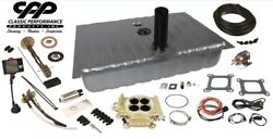 1967 1968 Ford Mustang Fitech 600hp Efi Fuel Injection Gas Tank Conversion Kit