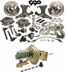67-70 Chevy C10 Pickup Truck 5 Lug Stock Height Spindle Booster Conversion