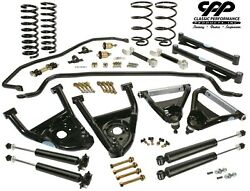 68-72 Chevy Chevelle Cpp Pro Touring Kit Tubular A Arms Sway Bar Shocks Springs