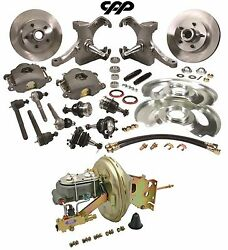 67-70 Chevy C10 Pickup Truck 5 Lug Drop Spindle Booster Conversion Kit