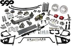 1953-56 Ford F100 1/2 Ton Truck Ultimate Performance Package Mustang Ii Ifs