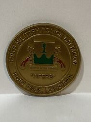 519th Military Police Battalion Vipers Commanders Challenge Coin - Vintage