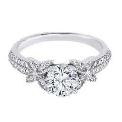 1.10 Ct Genuine Diamond Engagement Ring For Women Solid 950 Platinum Size 6 7 8