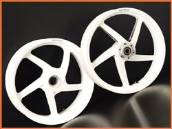 Ducati 748 916 996 998 Ms4r Marchesini M5r Magnesium Wheel Front And Rear Set Whit