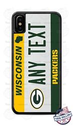 Wisconsin State Football License Phone Case For Iphone 12 Samsung A21 Lg Google