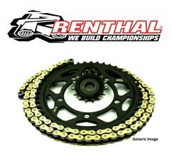 Ducati 1260 Multisrada / S 18-20 Renthal Gold X-ring Chain And Jt Quiet Sprockets