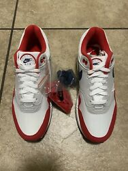 Nike Air Max 1 Usa Quick Strike July 4th Banned Nike Betsy Ross Flag Mens 8