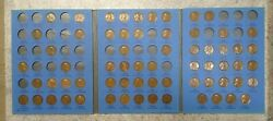 65 Coin Set 1909-1940 Lincoln Wheat Penny Cent - Early Dates Collection  317